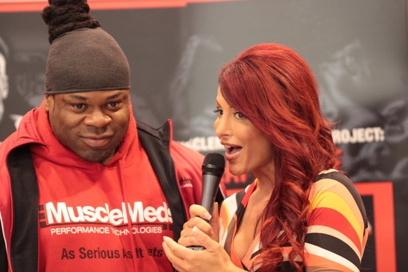 intervewing Kai Greene wb