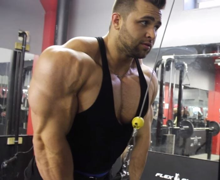 Ifbb Pro Regan Grimes Trains Chest Shoulders And Triceps