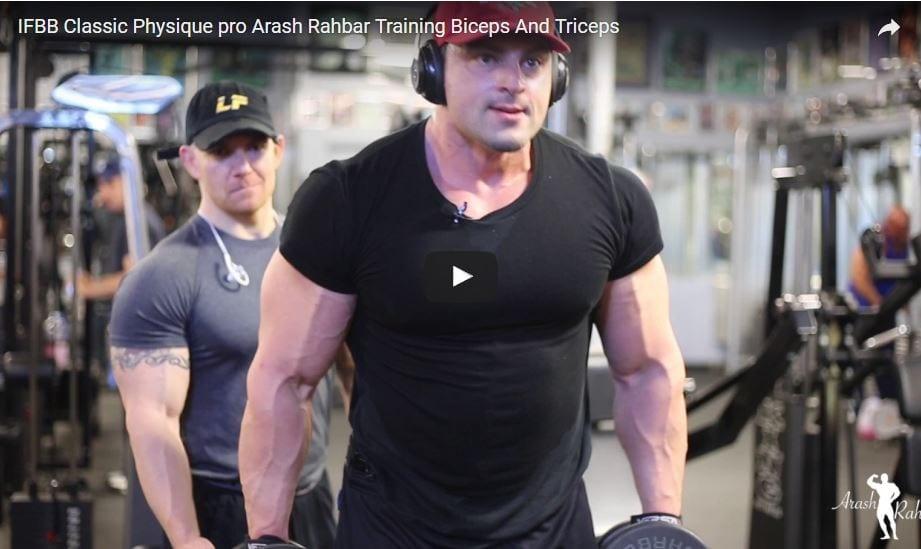 Classic Physique Pro Arash Rahbar