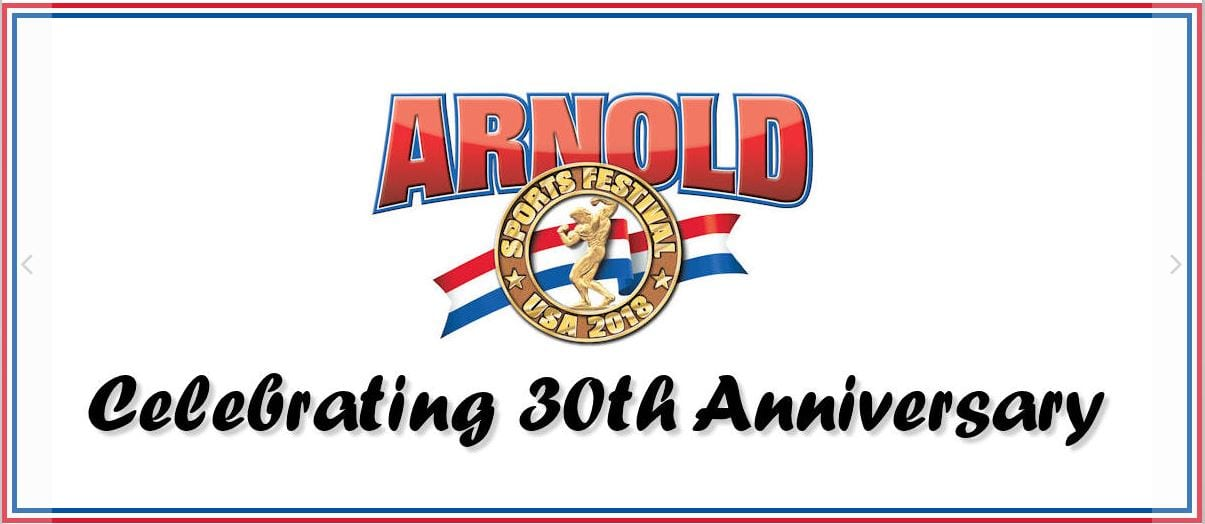 Arnold Sports Celebrating 30 years of Fitness