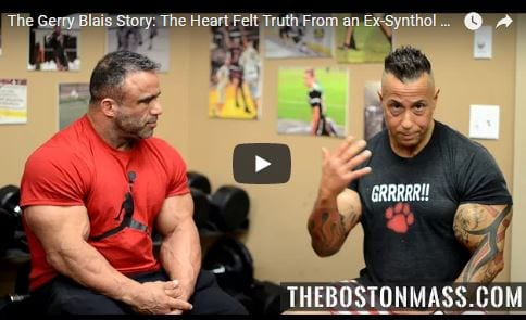 The Gerry Blais Story: The Heart Felt Truth From an Ex-Synthol User (PART 2)