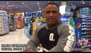 Jose Raymond at supermarket