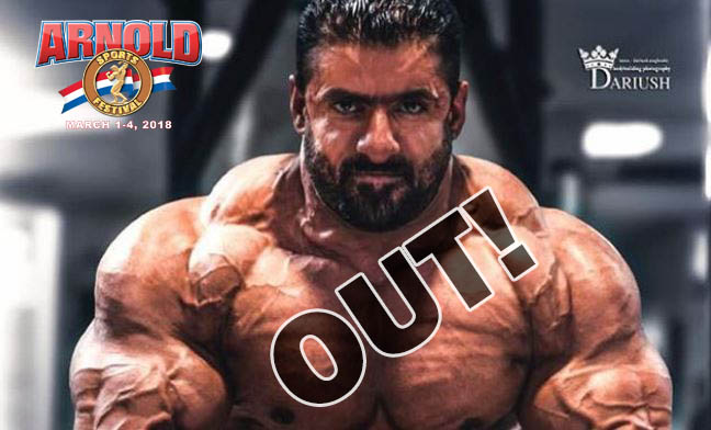 Hadi Chopan Arnold Classic Rising Muscle