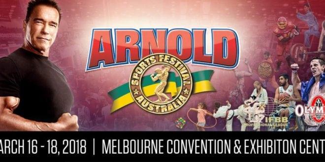 2018 Arnold Classic Australia: Competitors list