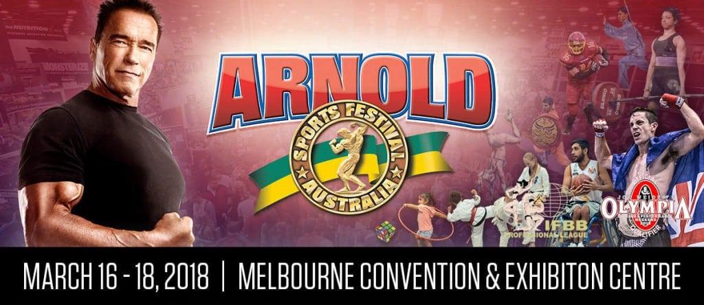 2018 Arnold Classic Australia Competitors list