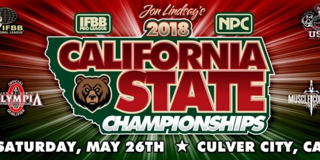 California Pro 2018: Competitors list