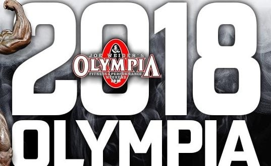 Mr. Olympia Qualification Lists 2018