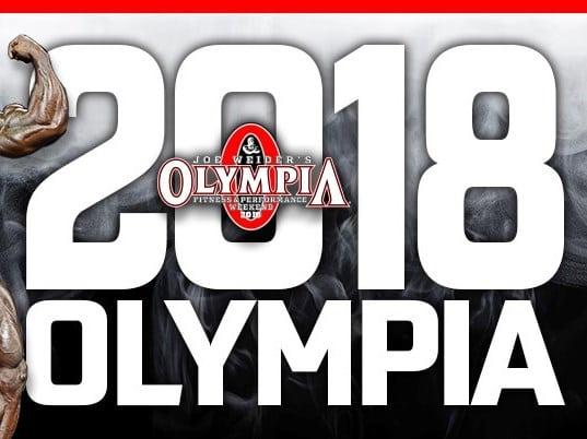 Joe Weider's OLYMPIA 2018