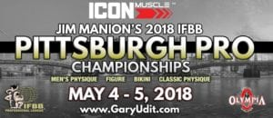 Pittsburgh Pro 2018 ICON MUSCLE