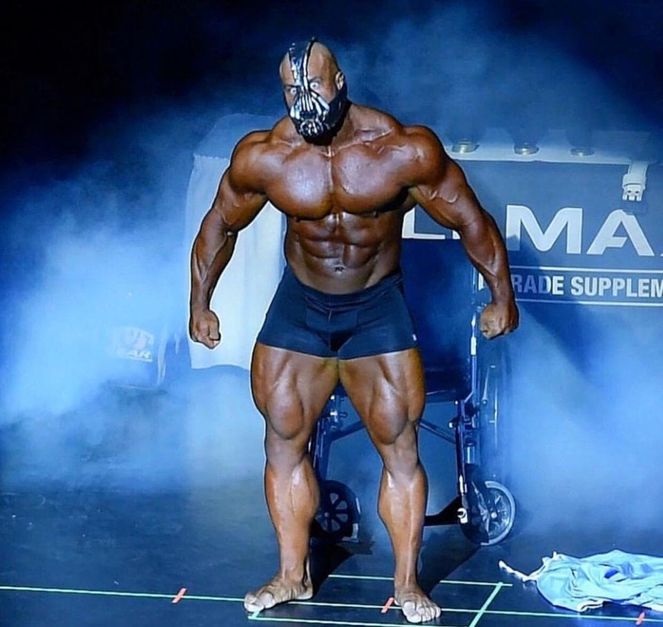 Watch Ifbb Pro Antoine Vaillant Latest Guest Pose Appearance