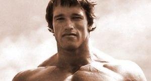 Schwarzenegger old Photo