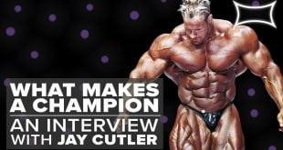 4x Mr. Olympia Jay cutler