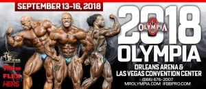 Mr. Olympia Results